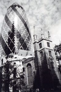 """Past & Present, City of London"" di Ioanna Zagkana"