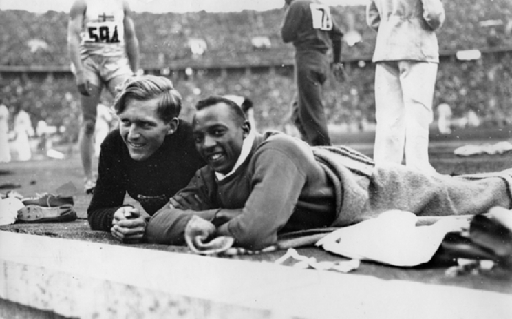 Jesse Owens e Carl Luz Long