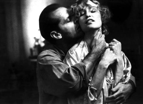 Jessica Lange e Jack Nicholson in Il postino suona sempre due volte, 1981.