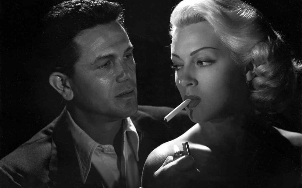 Lana Turner e John Garfield in Il postno suona sempre due volte di Tay Garnett, 1946.