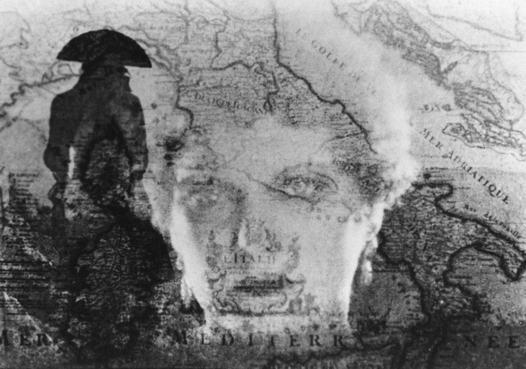 Una scena del film Napoleone (1927) di Abel Gance