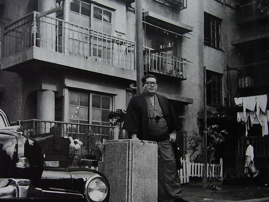 Politician Inejiro Asanuma, 1955 © Tsuneko Sasamoto