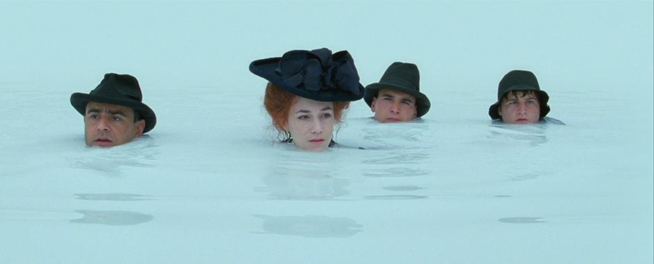 Una scena del film Nuovomondo (2006)