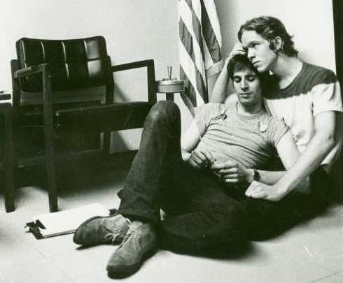 Gay Activists Alliance holding a sit-in at New York State Republican headquarters in New York City in 1970. Diana Davies photographs/New York Public Library