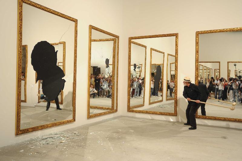 Quadri Specchianti, Michelangelo Pistoletto - fonte: www.s3-eu-west-1.amazonaws.com