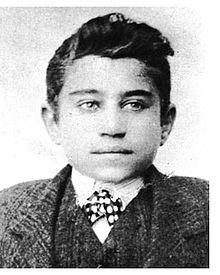 Antonio Gramsci nel 1906. Fonte: Wikipedia