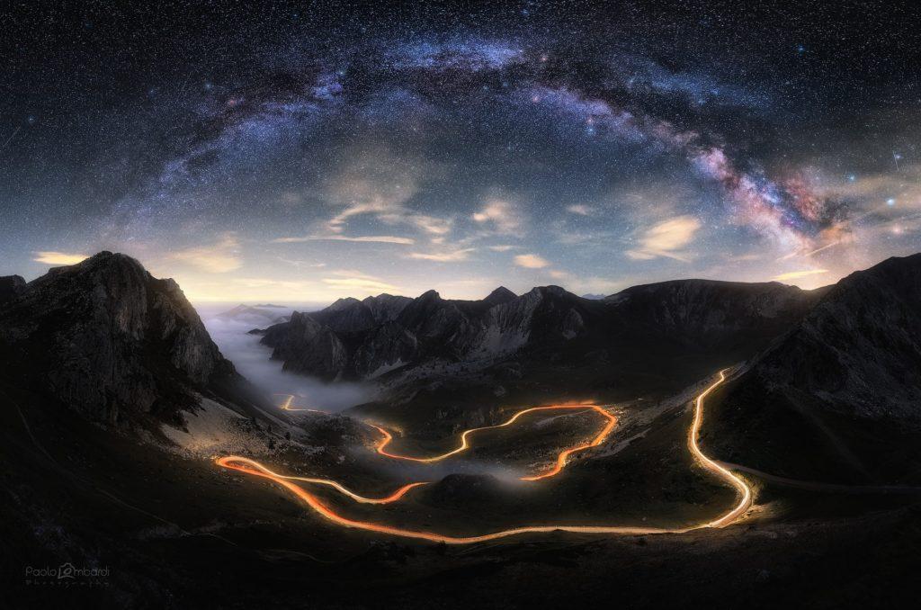 Tra la Valle Grana e la Valle Maira, sotto la via Lattea