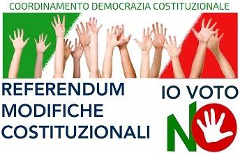 referendum costituzionale comitato no