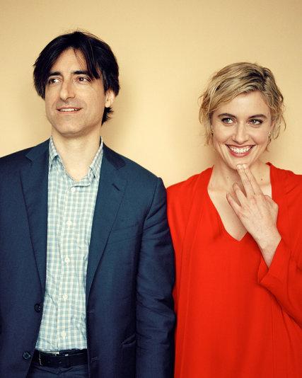 il regista Noah Baumbach e l'attrice e compagna Greta Gerwig - fonte: www.nytimes.com