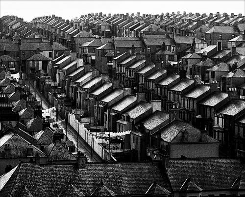 © Bill Brandt, Rainswept roofs, 1937