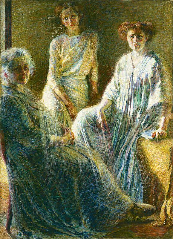 Umberto Boccioni, Le tre donne, 1909-1910