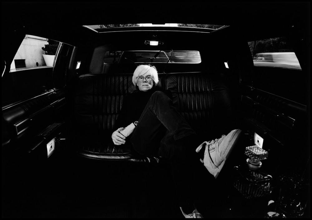 USA. New York City. 1986. American artist Andy WARHOL. Magnumphotos.com