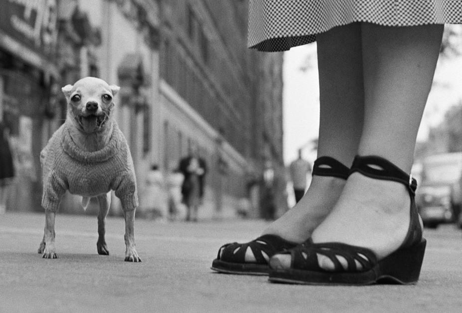 USA. New York City. 1946. Magumphotos.com