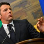 """Newly nominated Italian Prime Minister Matteo Renzi gives a press conference on February 19, 2014 after consulting several Italian parties on forming a new government, at Montecitorio Palace, the Italian Chamber of Deputies, in Rome. Italy's centre-left leader Matteo Renzi was nominated to be the European Union's youngest prime minister on February 17 and immediately outlined an ambitious reform plan, promising """"energy, enthusiasm and commitment"""" to revitalise the eurozone's third largest economy.  Renzi said he intends to formally accept the position of prime minister on February  22, ahead of a confidence vote in his new government.  AFP PHOTO / ANDREAS SOLARO        (Photo credit should read ANDREAS SOLARO/AFP/Getty Images)"""