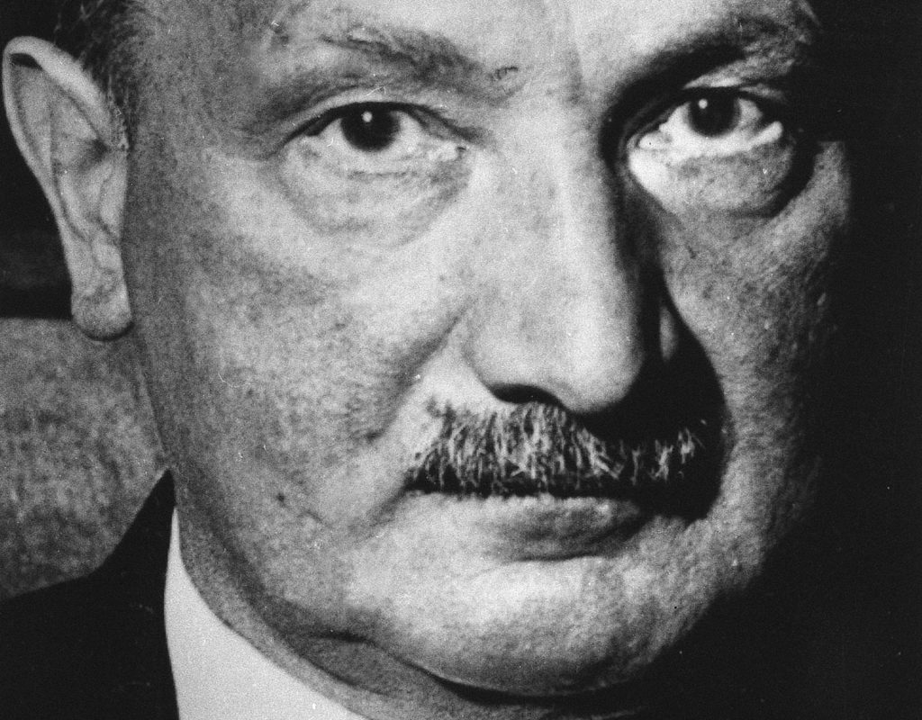 Martin Heidegger Fonte: www.the-american-interest.com