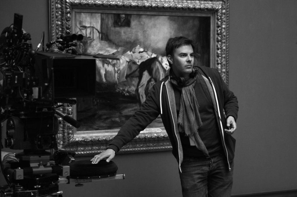 François Ozon sul set di Frantz - fonte: www.filmforlife.org