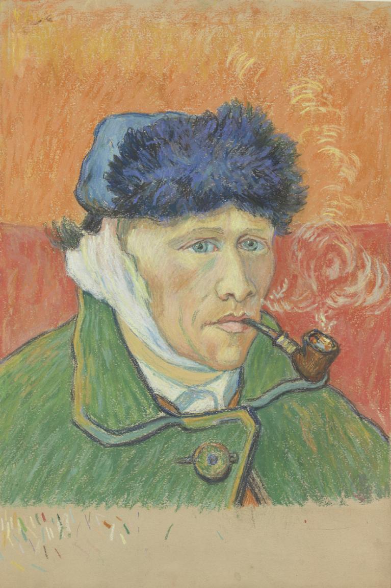 Vincent van gogh una lucida coscienza della malattia - Van gogh autoportrait oreille coupee ...