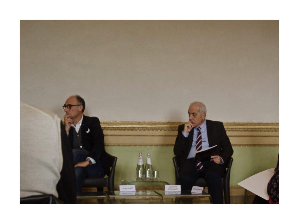 Denis Curti e Roberto Scanagatti, Villa Reale Monza ©Fausta Riva