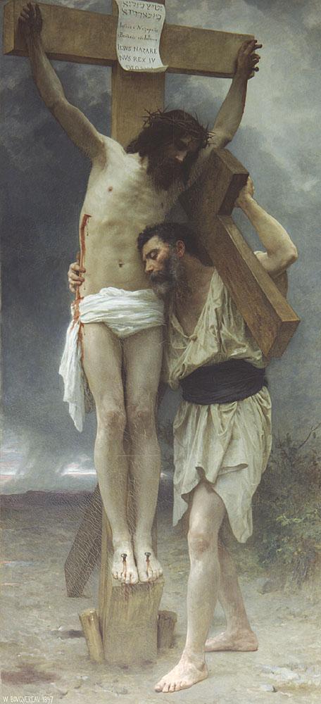 WILLIAM-ADOLPHE BOUGUEREAU, Compassione, 280x130, olio su tela, 1897, Parigi, Museo d'Orsay