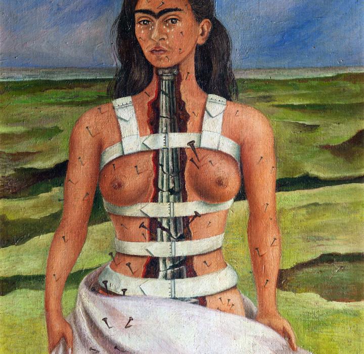 Frda Kahlo, La colonna spezzata (1944)