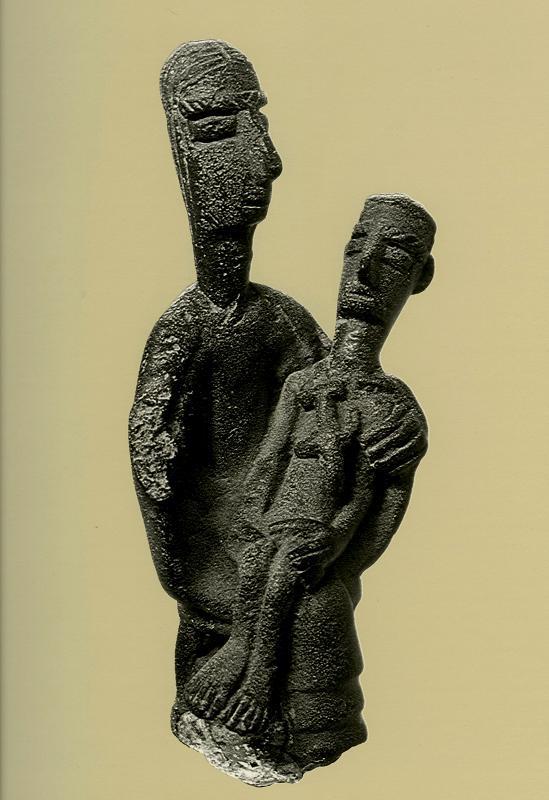 Anonimo, la Pietà d'Urzulei, VIII-V sec.a.C., bronzo, Cagliari, Museo Archeologico Nazionale