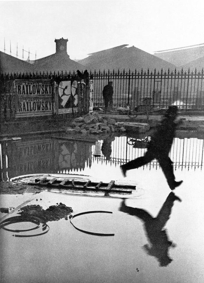 Henri Cartier-Bresson, Derrière la gare Saint-Lazare, Paris, 1932