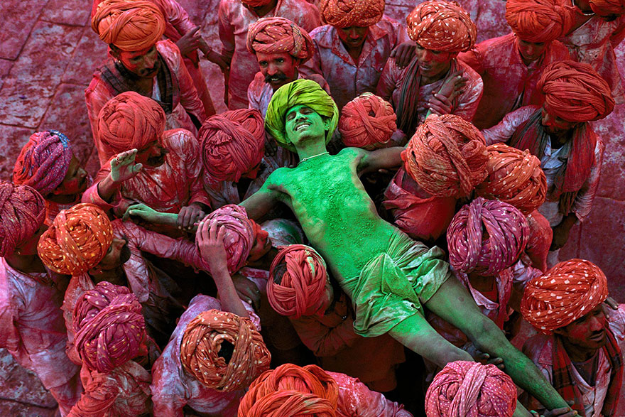 Steve McCurry - Rajastan, India. Fonte: www.incredibilia.it