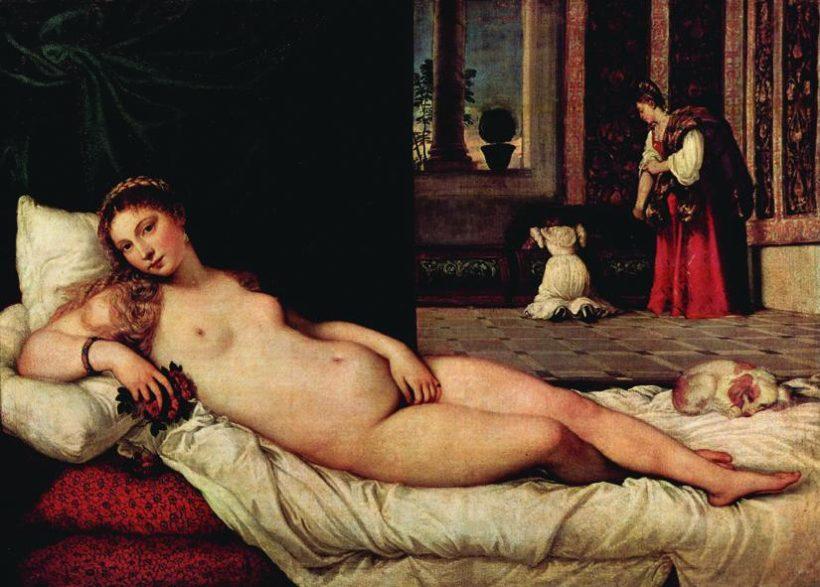 Venere di Urbino, Tiziano