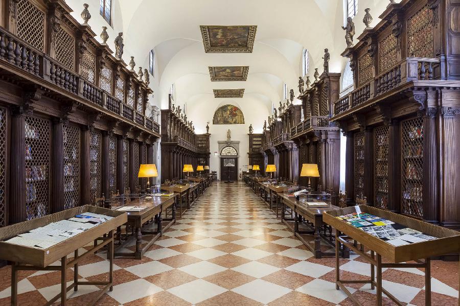 La Biblioteca progettata da Baldassare Longhena - fonte: www.ilgiornaledellarte.it