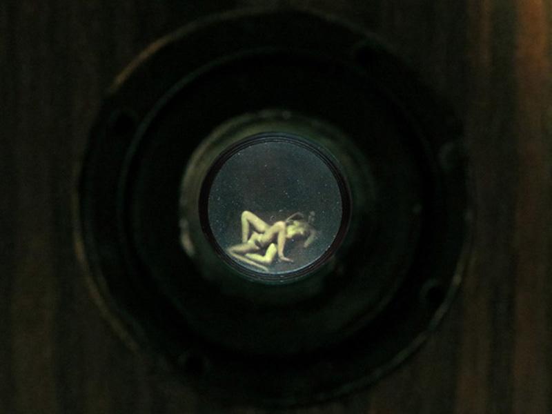 Peephole ©Aneta Bartos http://www.anetabartos.com/peephole-installation-shots/