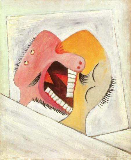 Il bacio 1931, Parigi Olio su tela, 61x50,5 cm Musèe National Picasso, Parigi