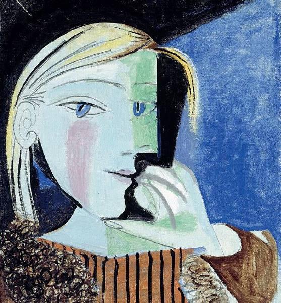 Ritratto di Marie-Thérèse 1937, Parigi Olio e matita su tela, 46x38 Musèe National Picasso, Parigi