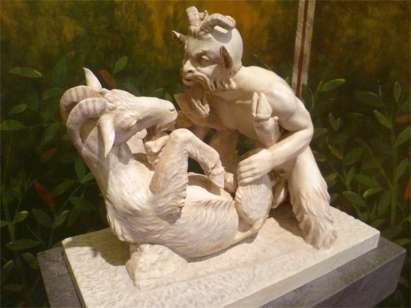 arte erotica pan e capra