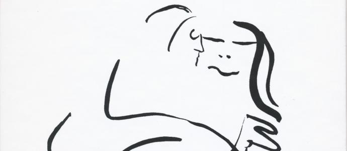 john lennon disegno erotico